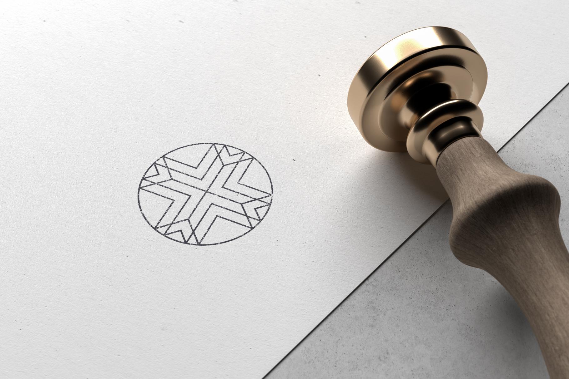 Minimal Geometric Logos - Volume 1 example image 9