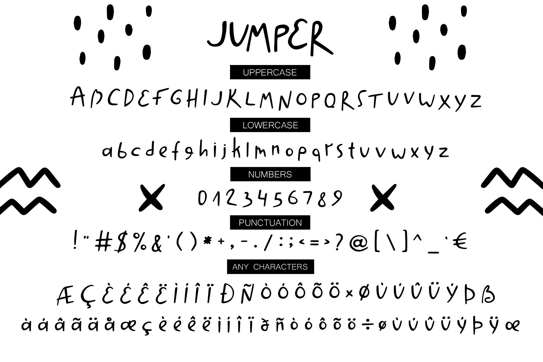 Jumper - Cool Font example image 6