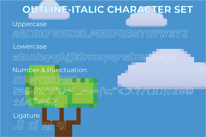 Digitizer - Pixel Font Family example image 7