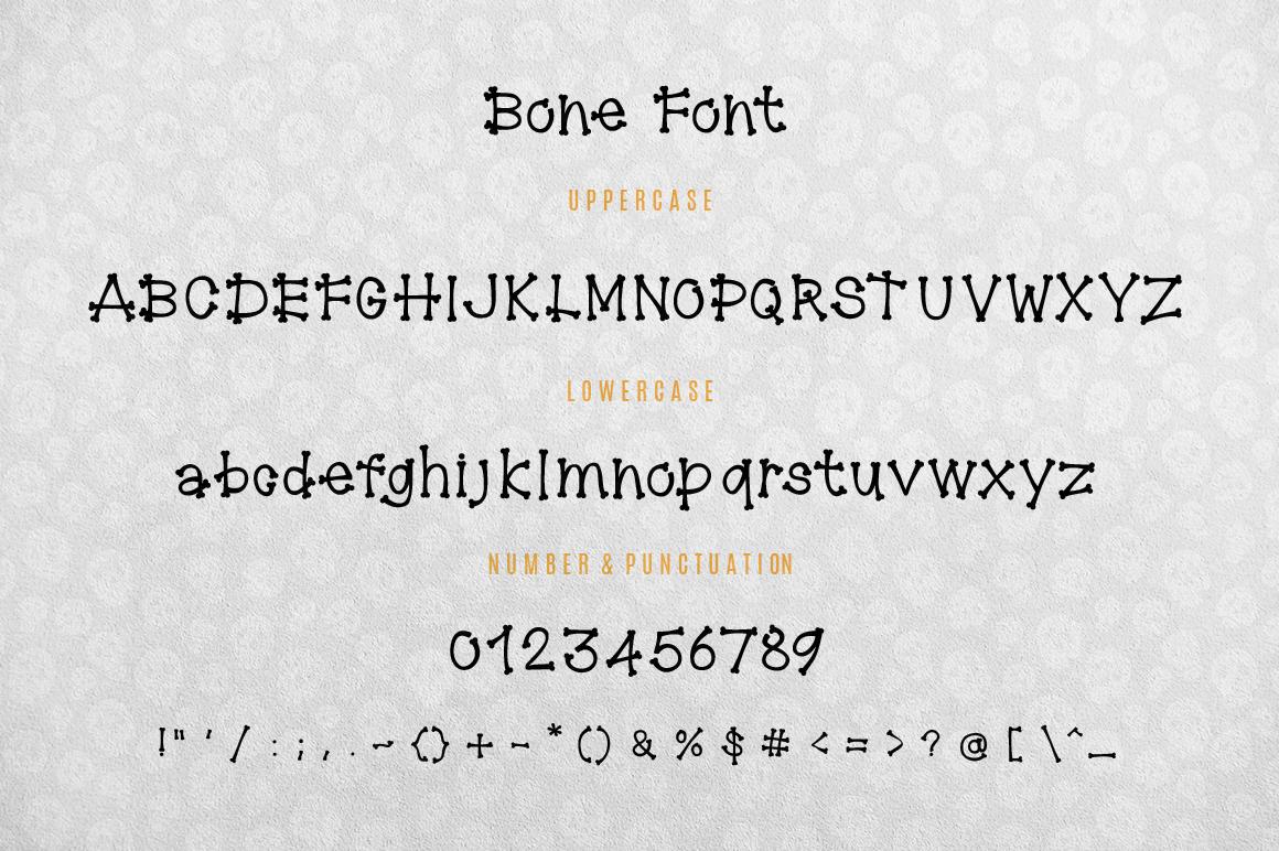 Bone Font example image 6
