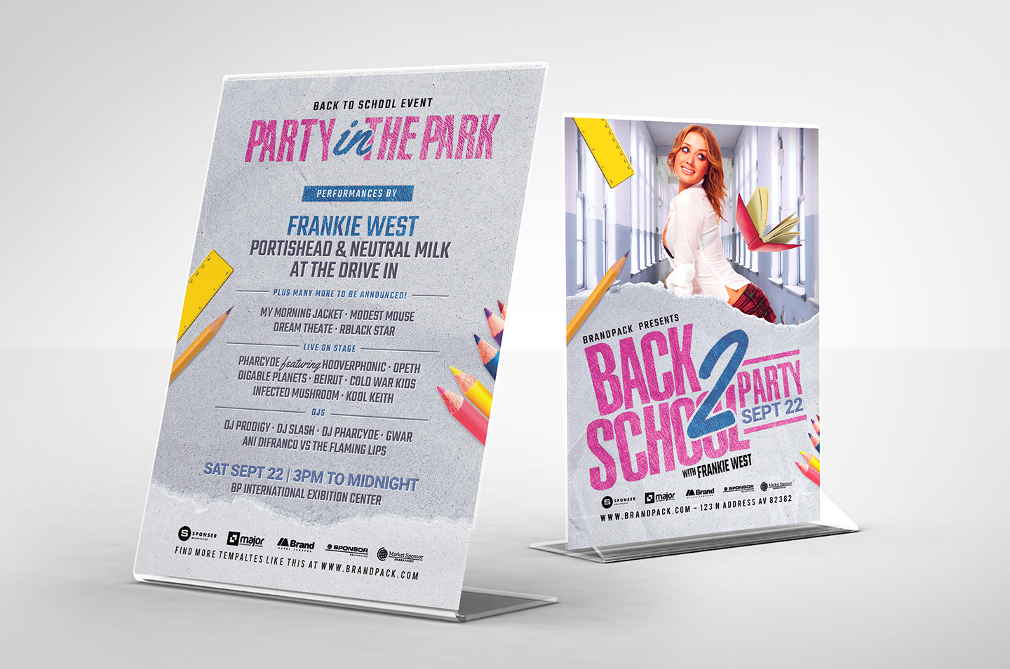 Back to School Flyer example image 2