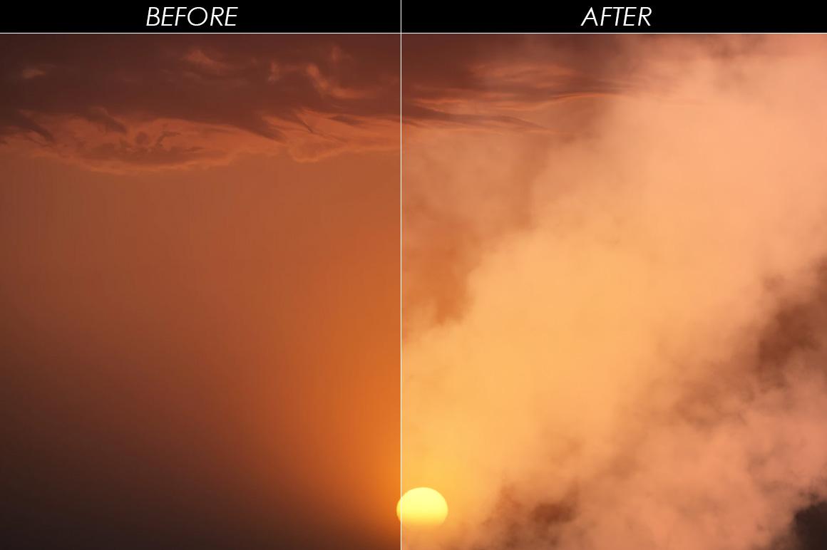 100 Cloudy Smoke Overlays example image 10
