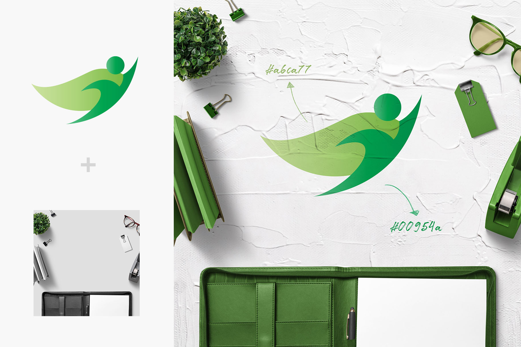 All-In-One Logo Mockup Creator example image 28