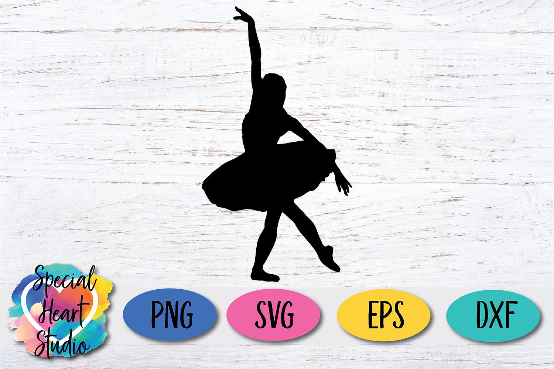 Ballerina SVG Clip Art example image 2