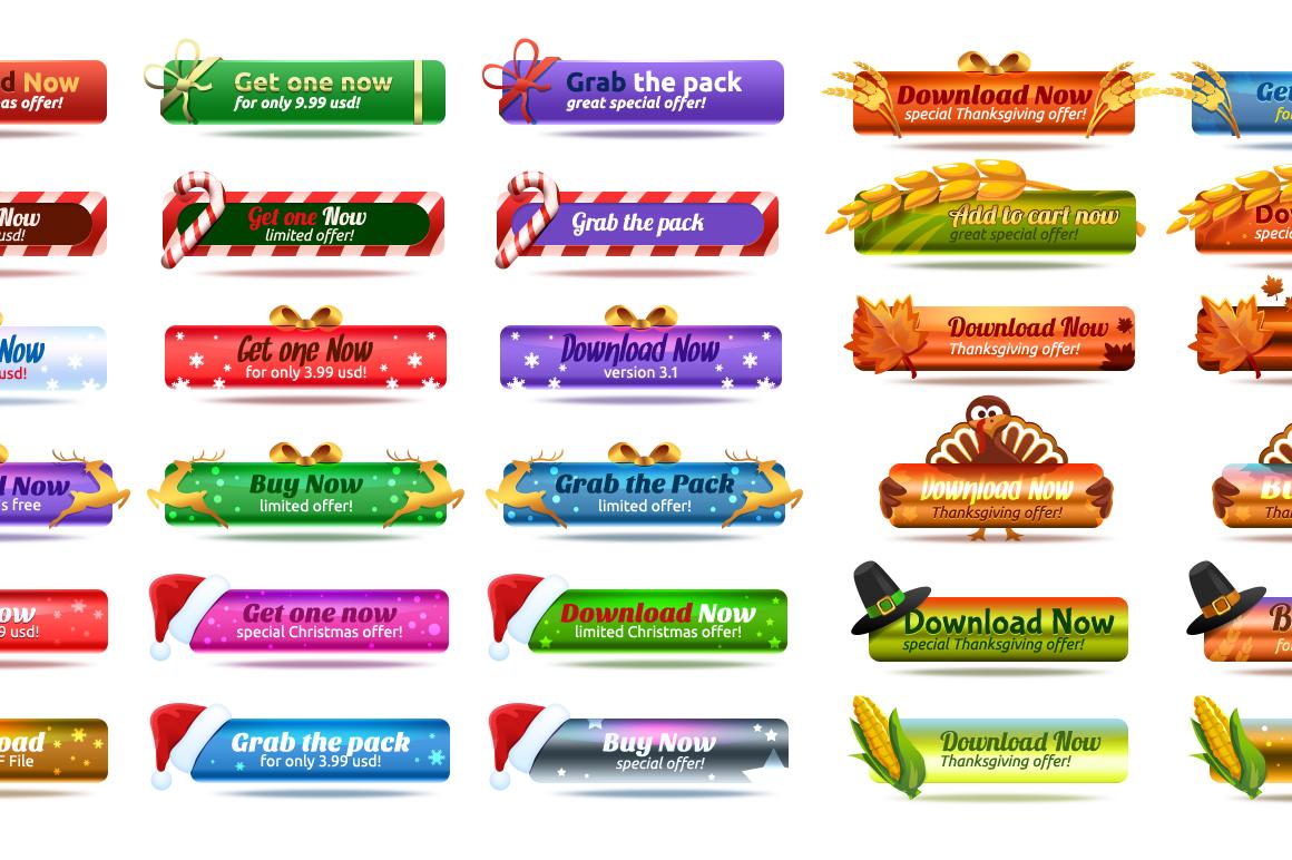 Cartoon Characters & Items Bundle example image 12