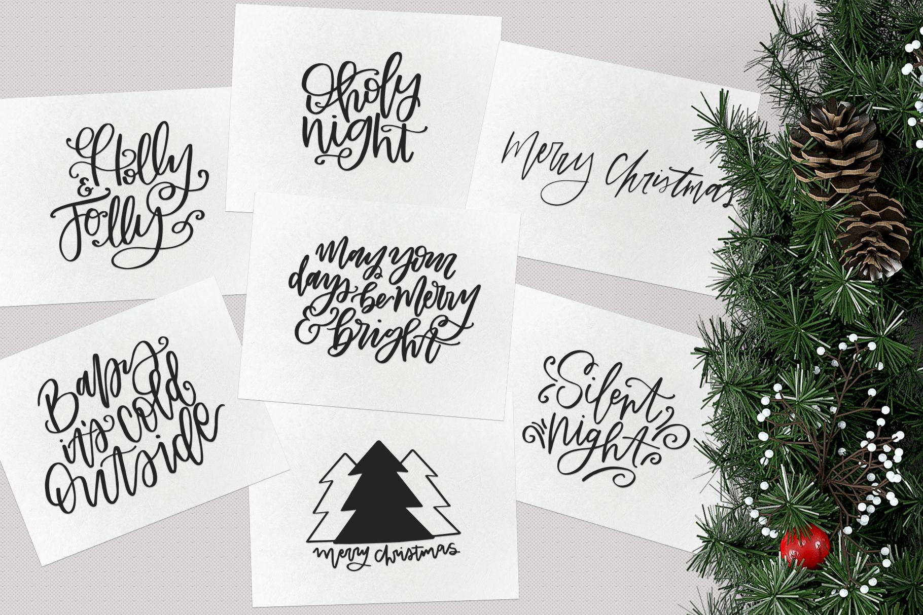 Christmas Symbols Font - Volume 2 example image 3