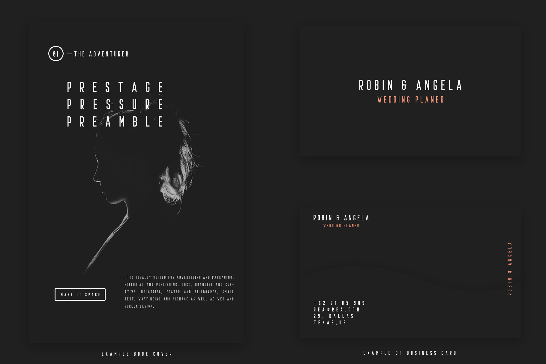 Prestage Font Family example image 2
