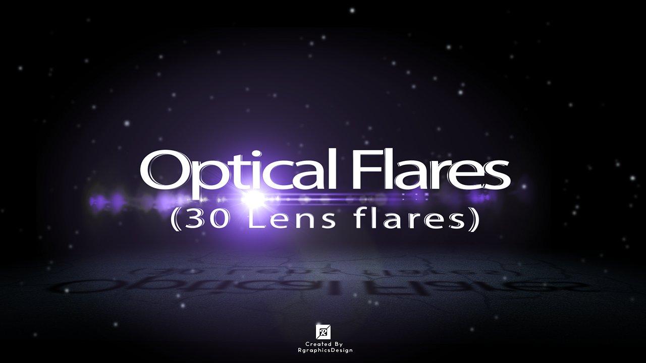 Optical Flares (30 Lens flares) example image 1