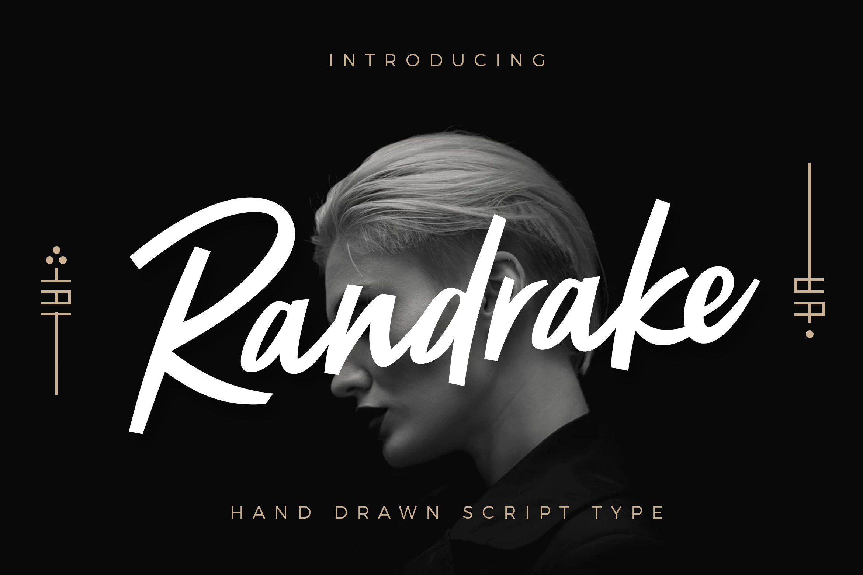 Randrake - Font Script example image 1