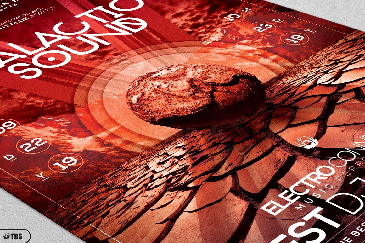 Galactic Sound Flyer Bundle example image 17