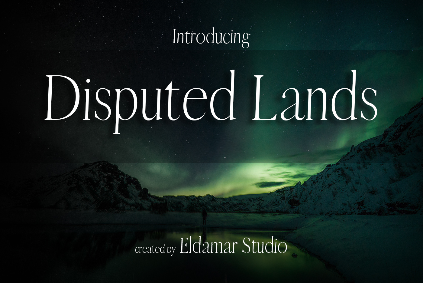Disputed Lands Font example image 1