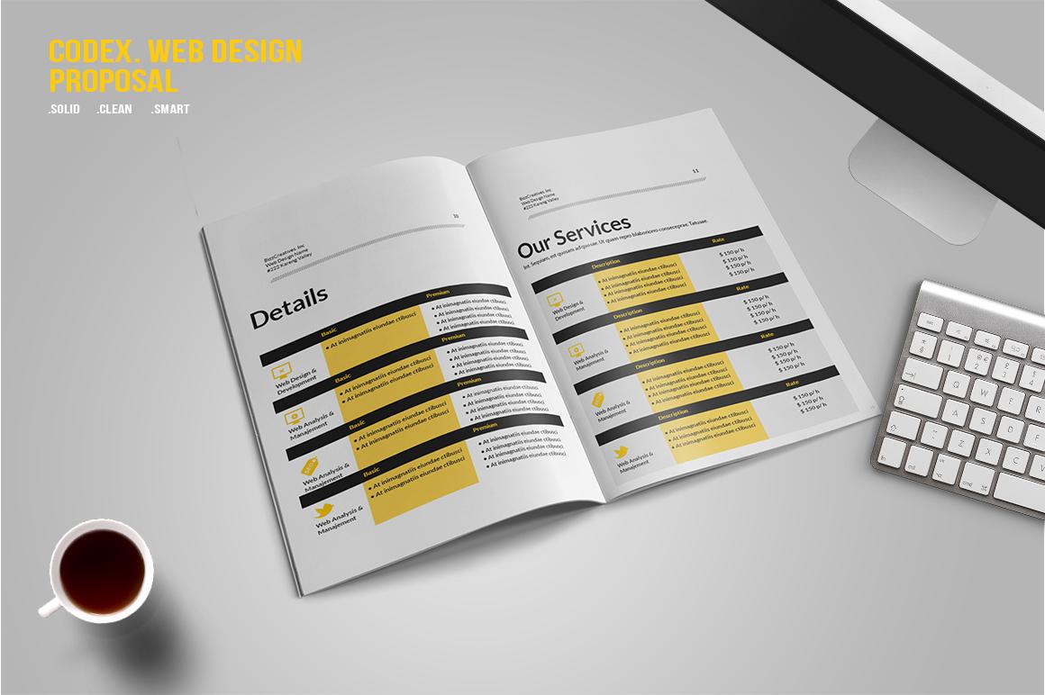 CODEX. Web Design Proposal example image 5