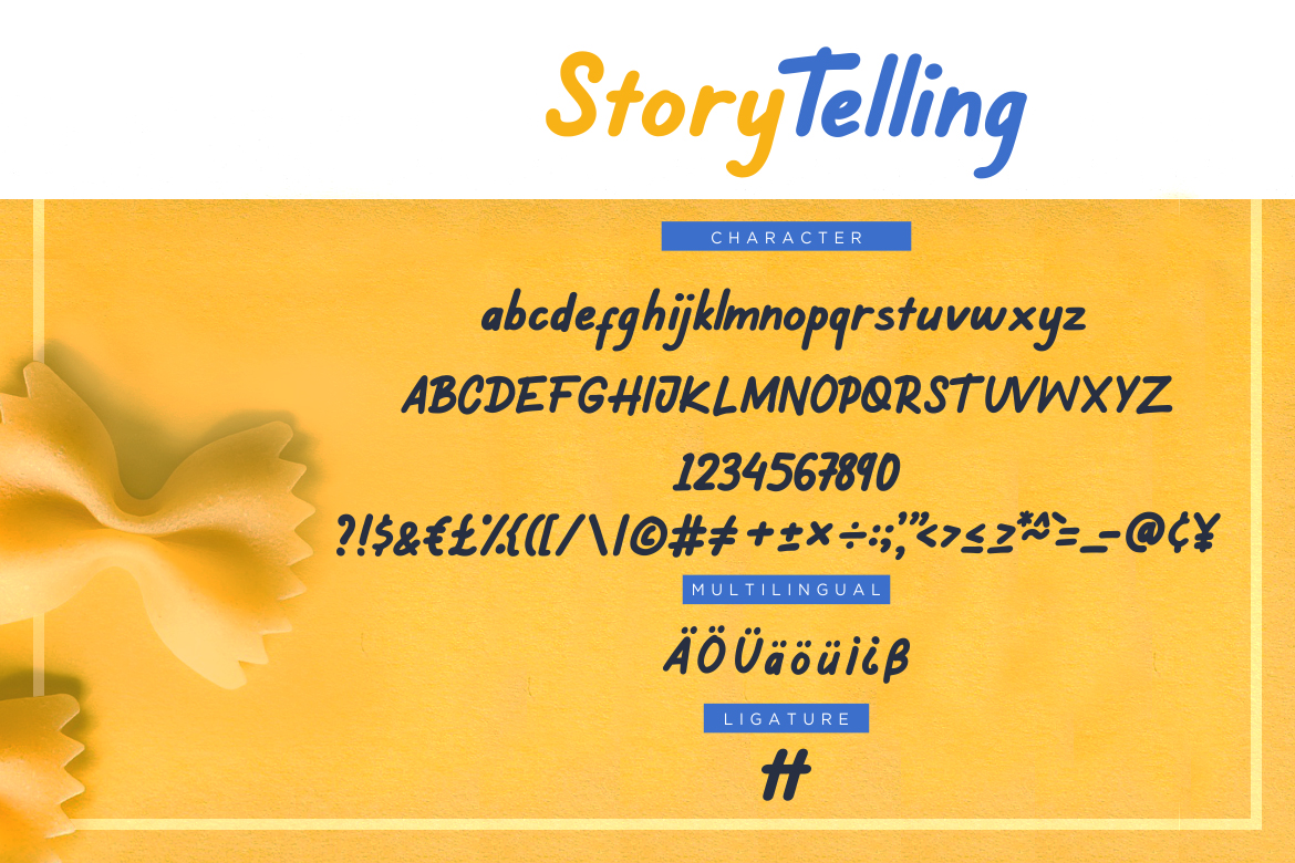 Story Telling Fun Font example image 7