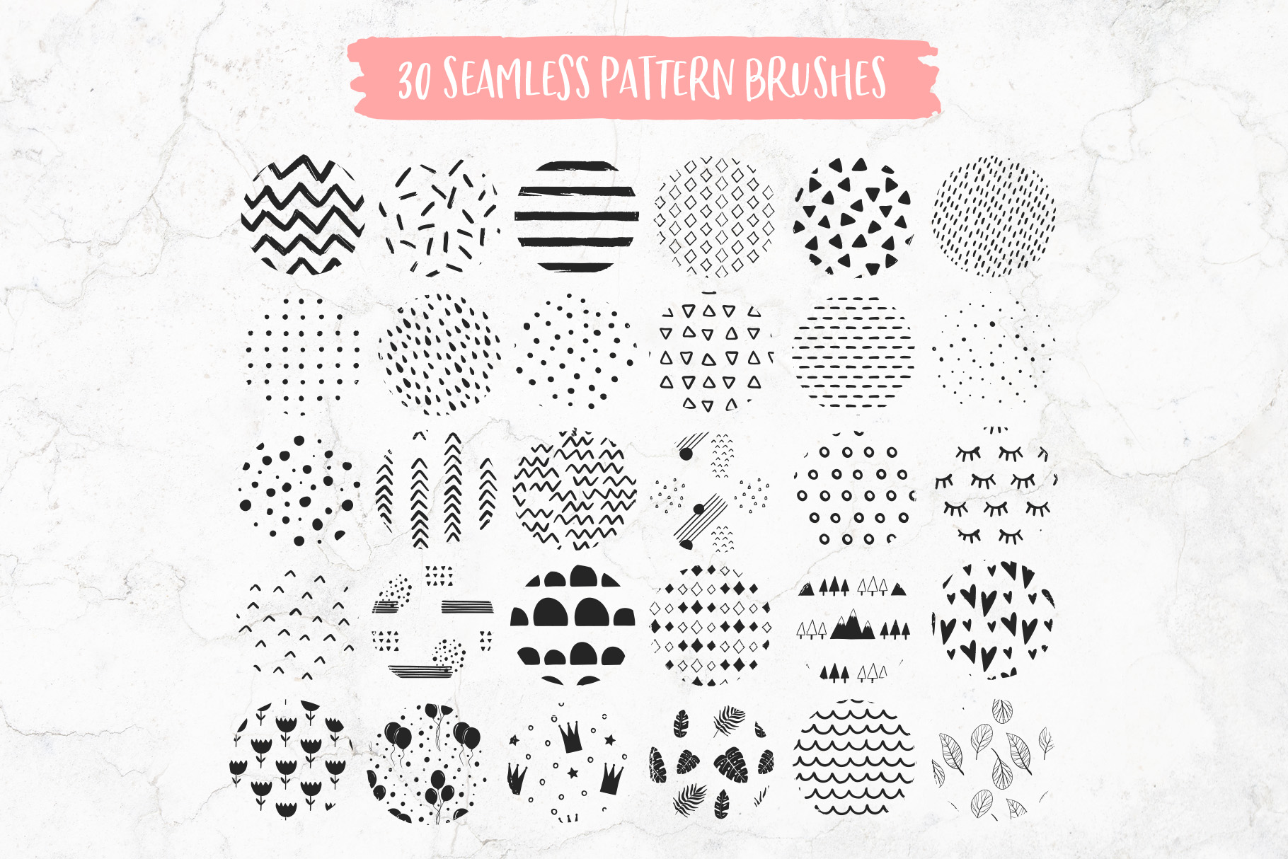 Funky Brushes Collection for Procreate example image 8