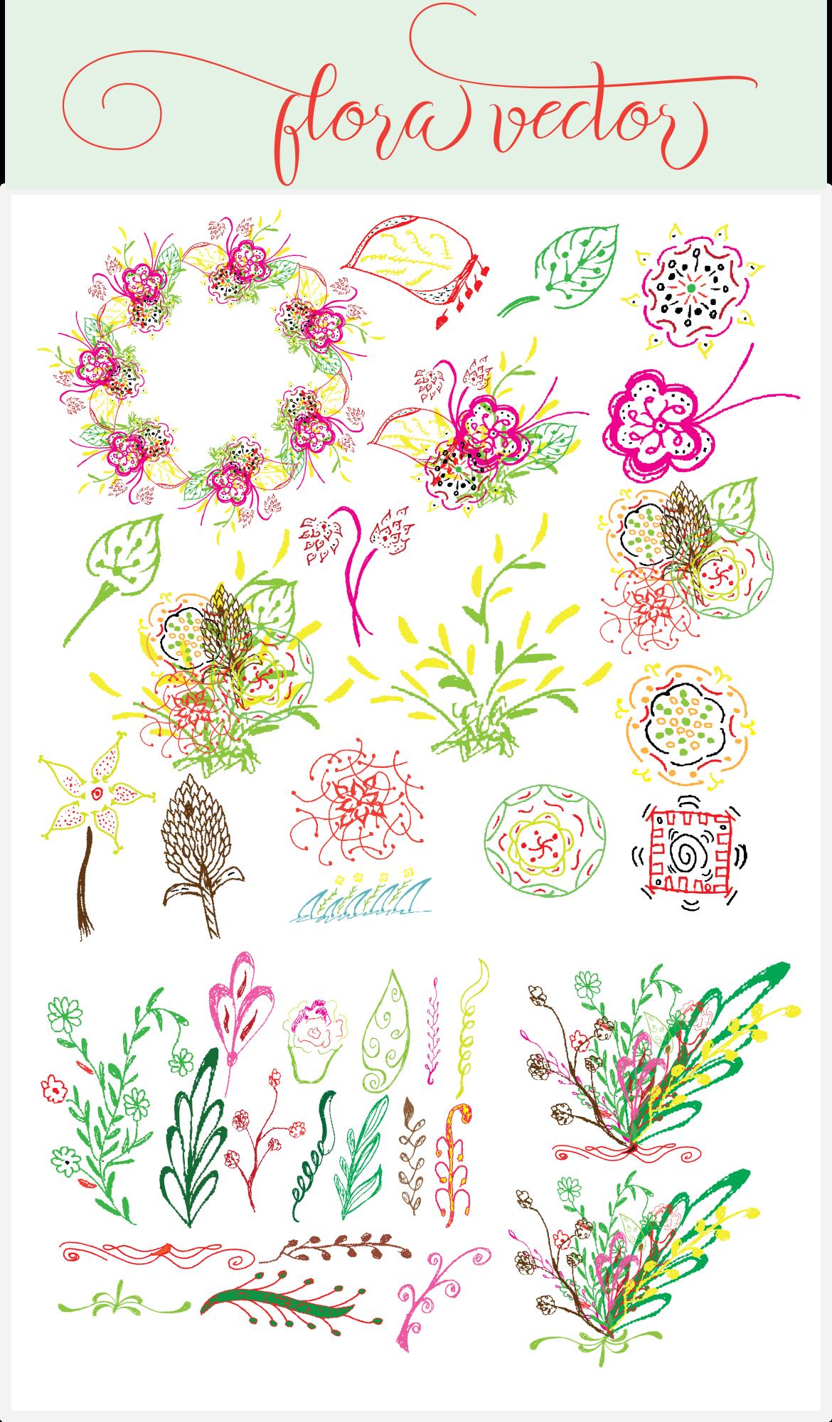 Flora vector example image 4