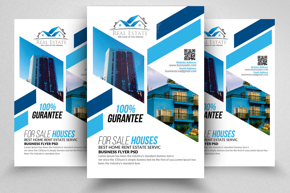 10 Real Estate Flyer Template Bundle Example Image 8
