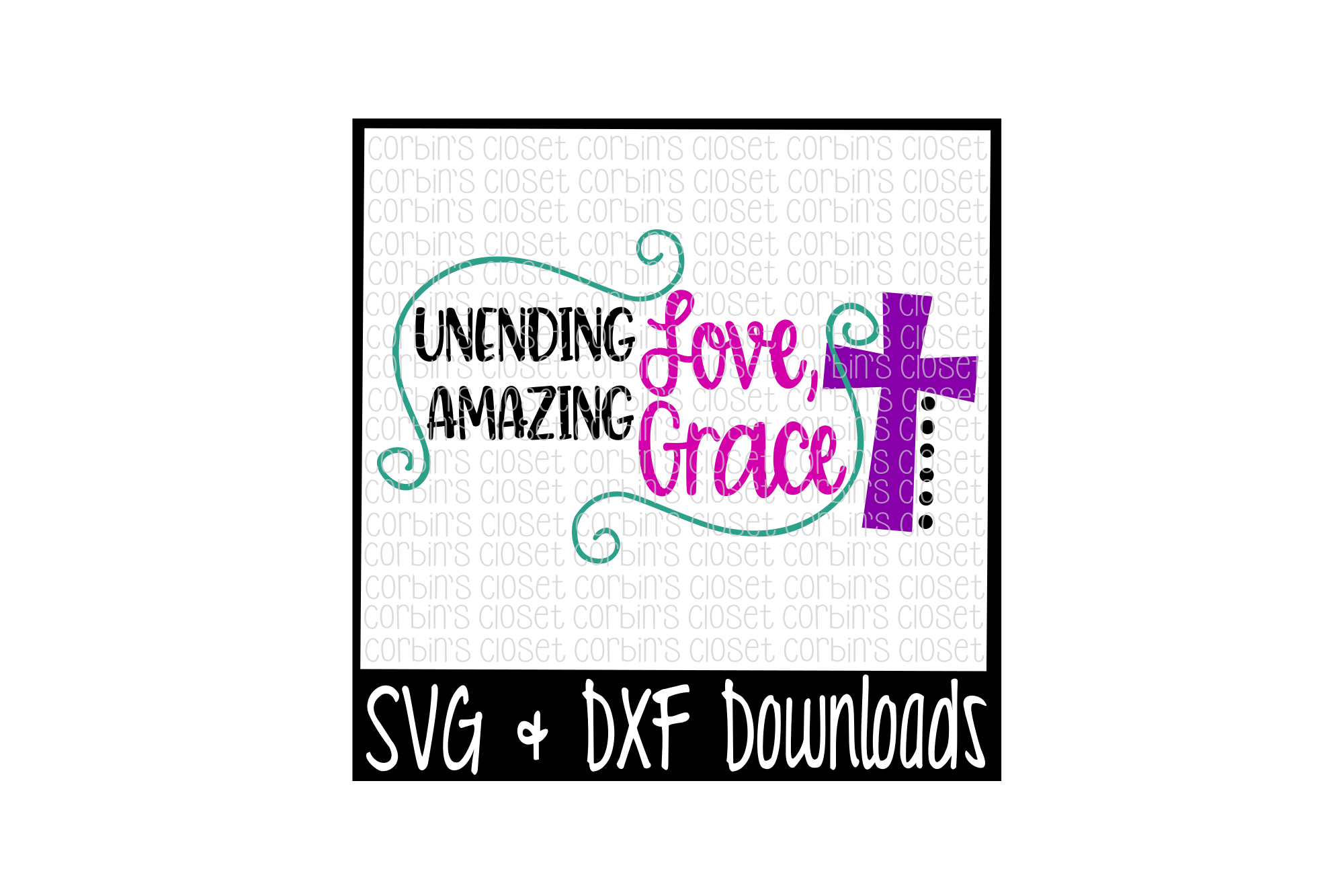 Unending Love, Amazing Grace example image 1
