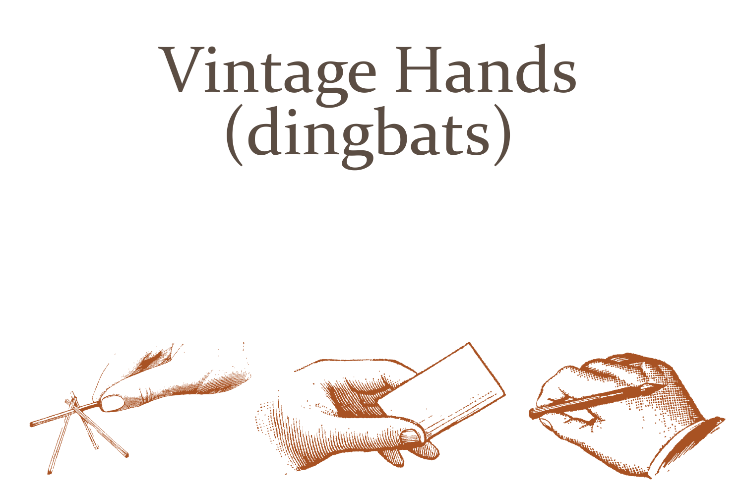 Vintage Hands example image 3