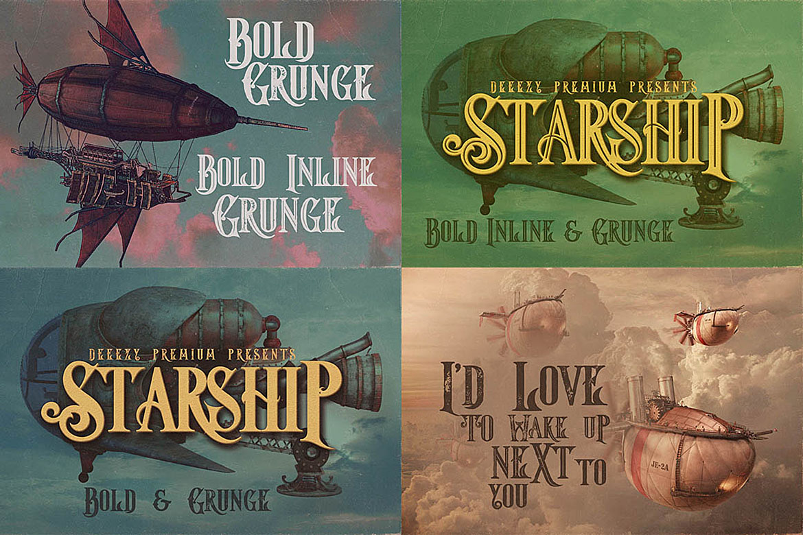 5 Fonts Bundle 1 example image 10