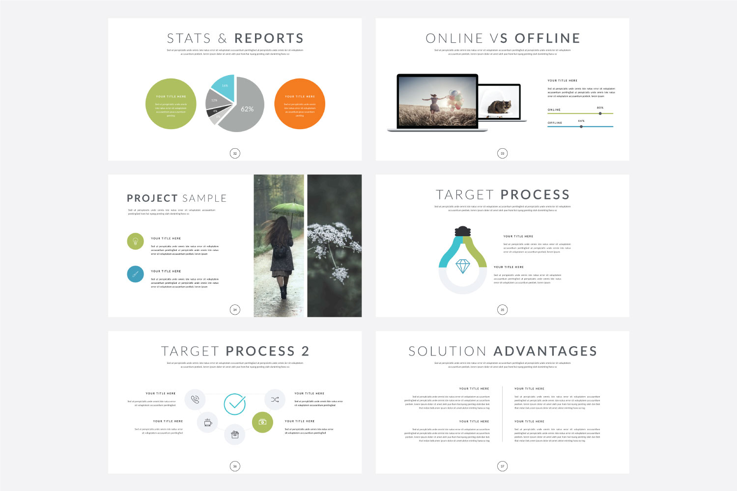 Phylox Powerpoint template example image 7