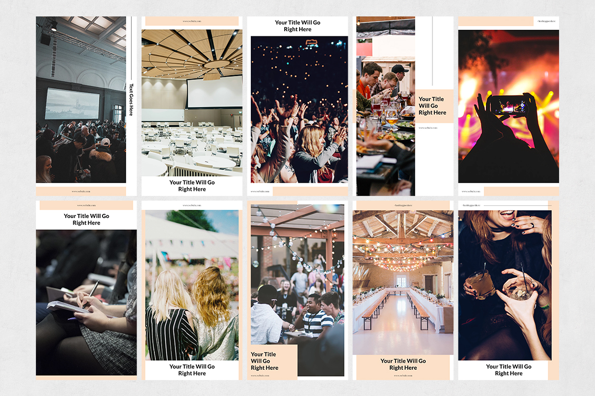 Events Animated Instagram Stories example image 7