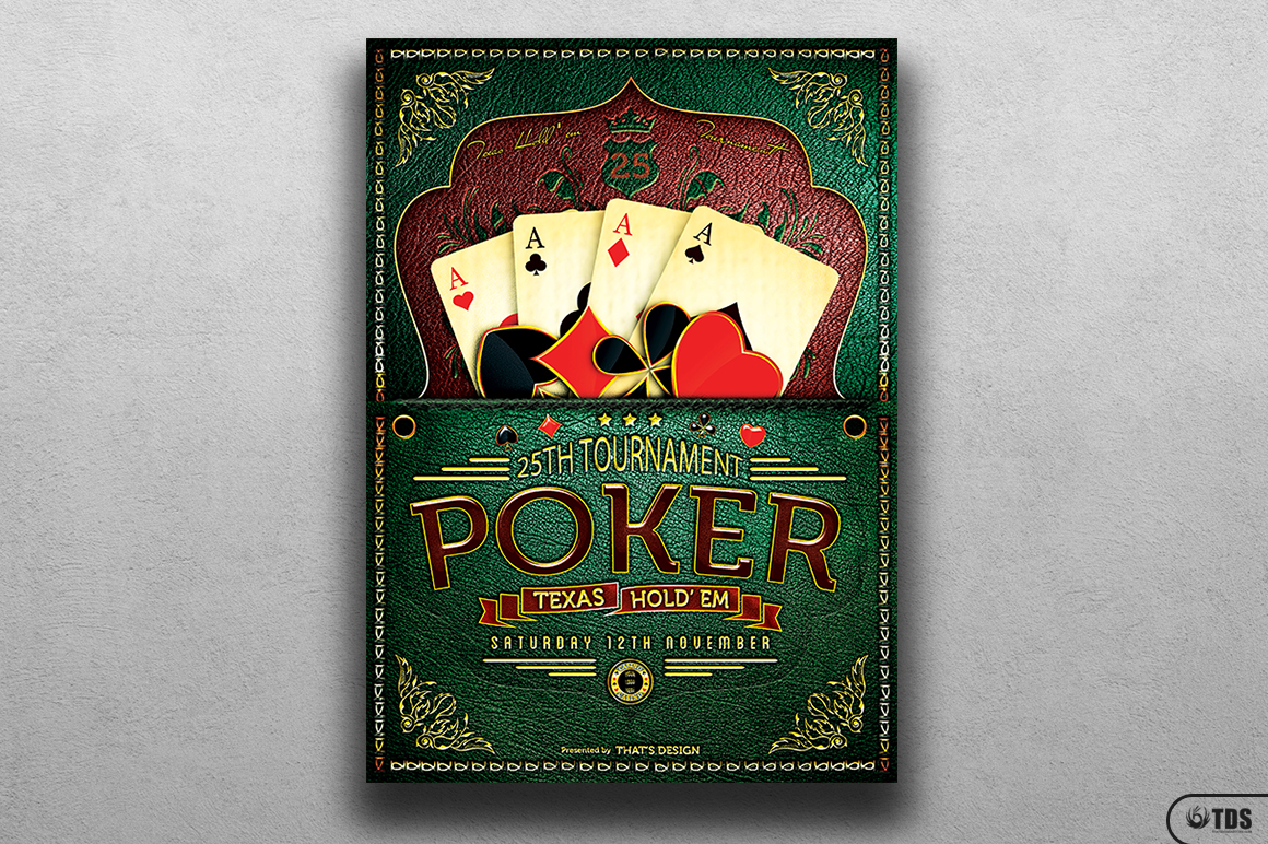 Poker Tournament Flyer Template example image 2