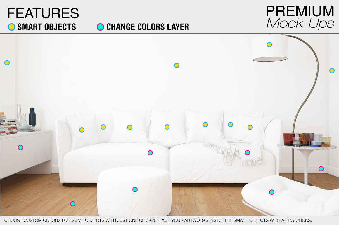 Pillow Mockup Set example image 4