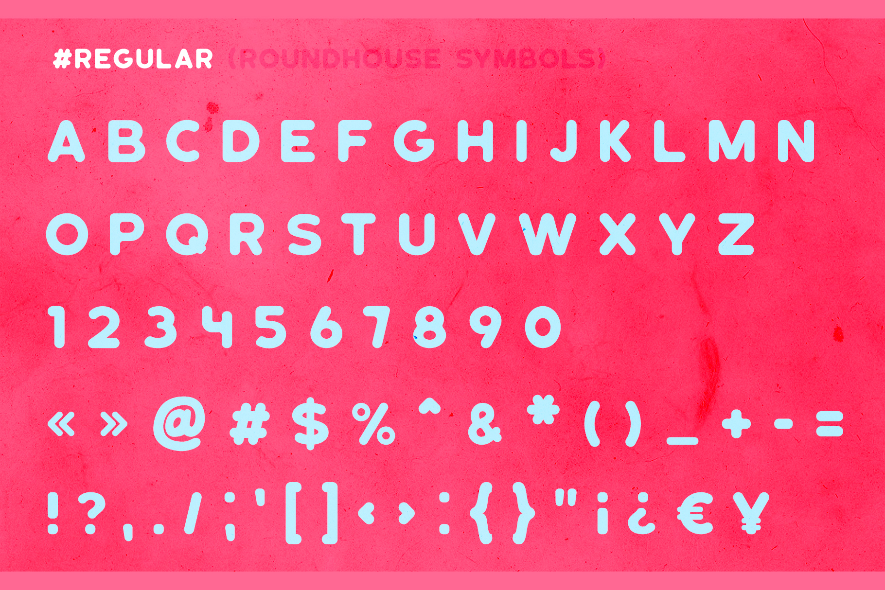 Roundhouse - Rounded Vintage Typeface example image 11
