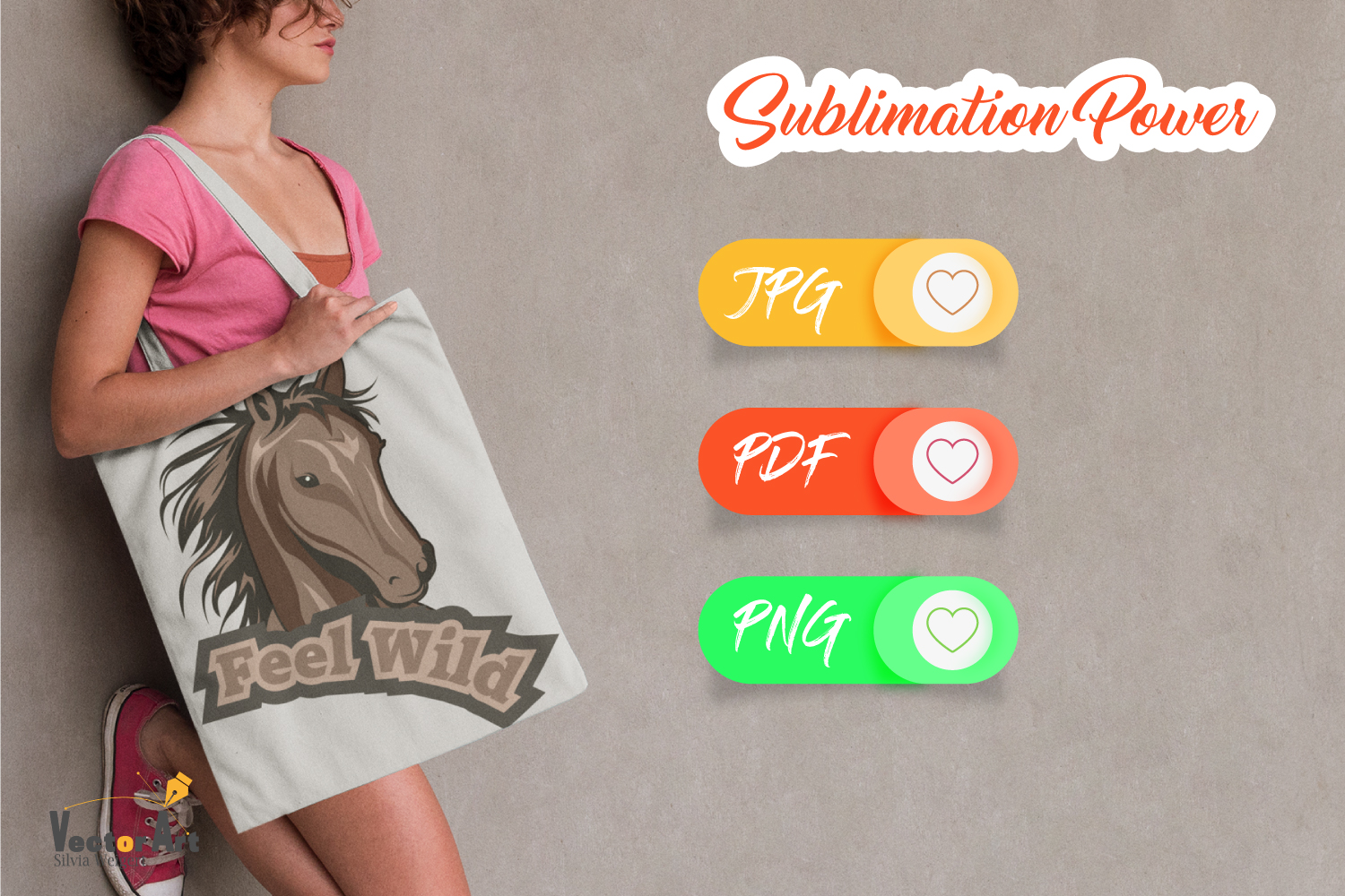 Horse Magic - Sublimation File for Crafter example image 6