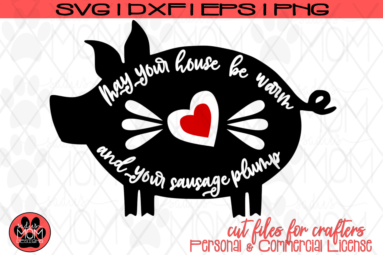 Pig Blessing - May Your House be Warm and Your Sausage Plump example image 3