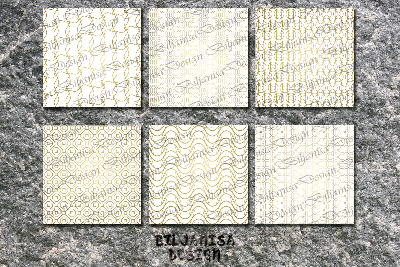 Ornamental luxury seamless patterns example image 2