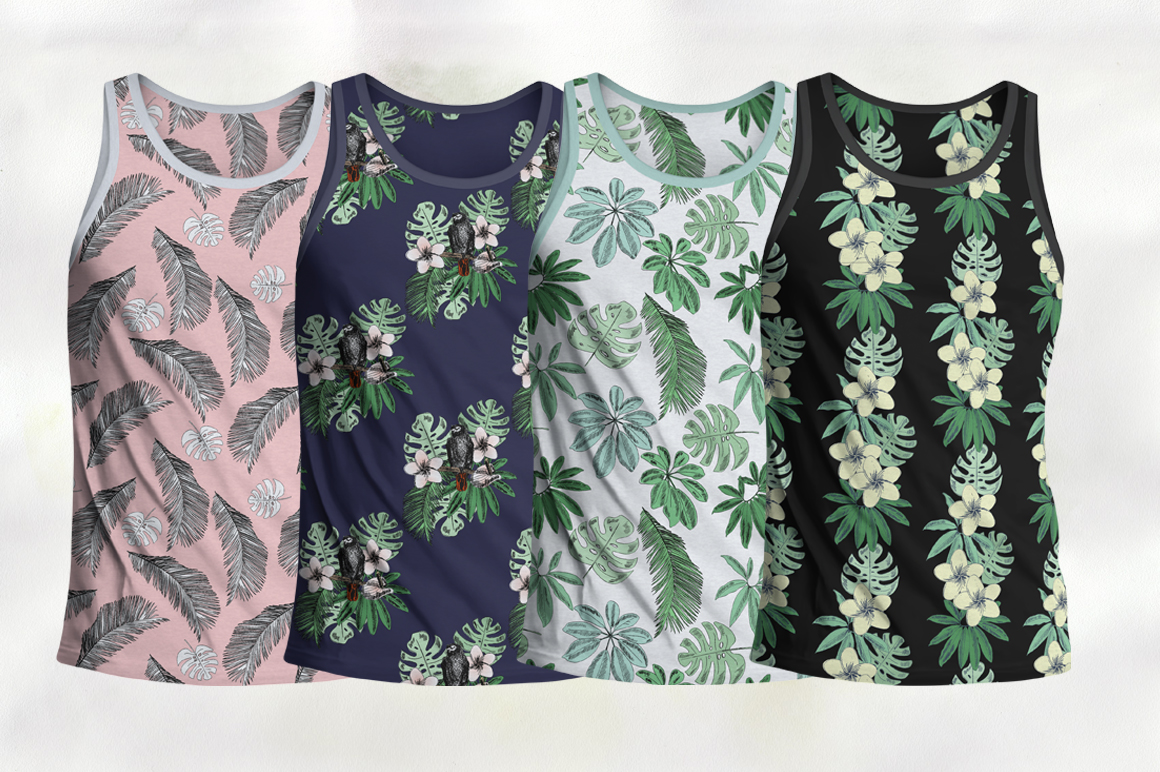 Tropical collection. example image 8