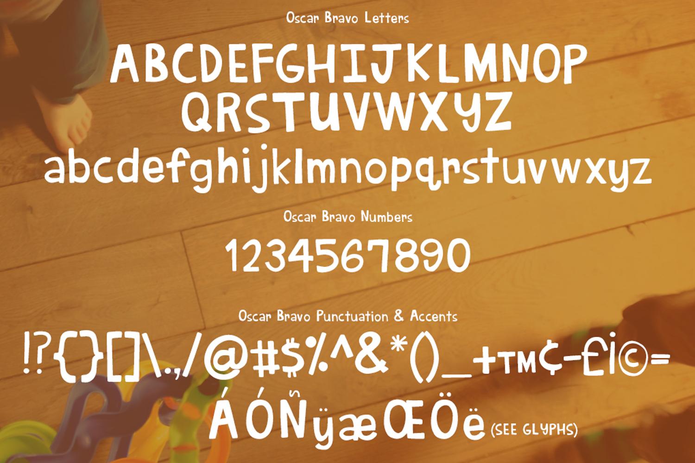 Oscar Bravo Font example image 2