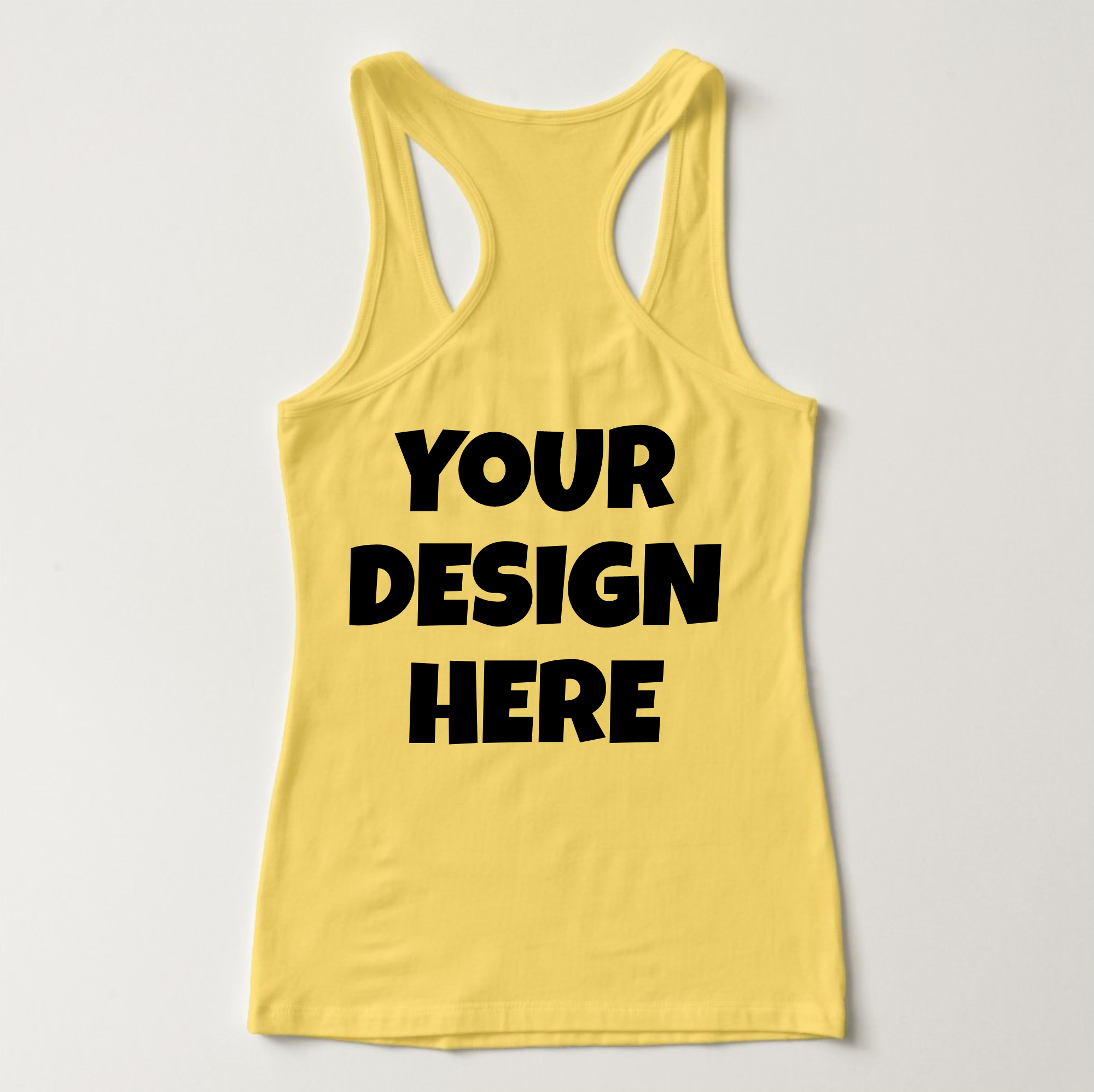 Ladies Tank Top Mockups - 20|Front/Back|PNG example image 14