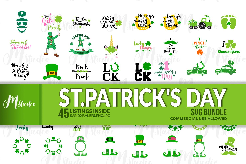 St. Patrick's Day SVG Bundle example image 1