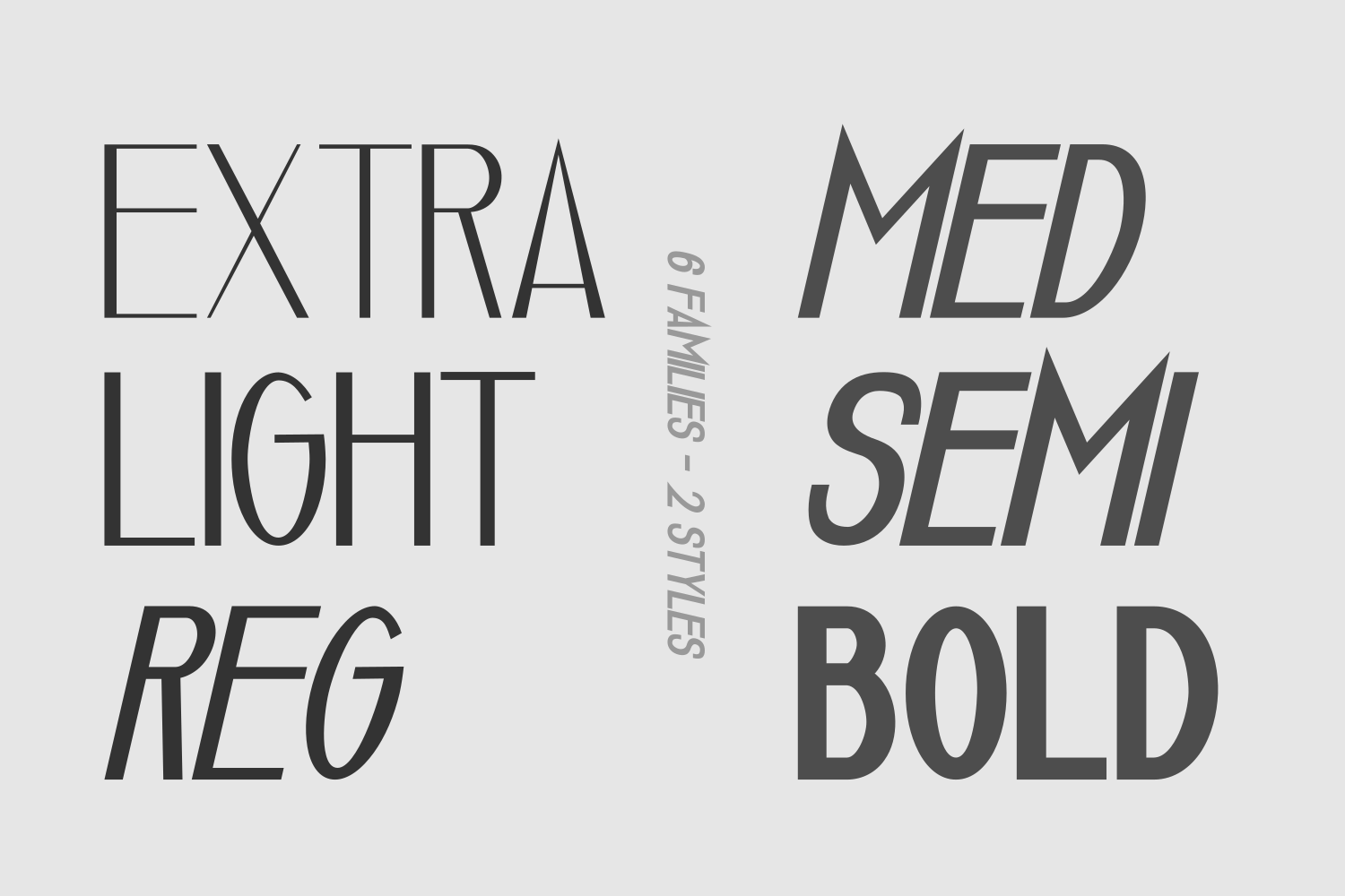 Luxuria // A Luxury Font Family example image 2