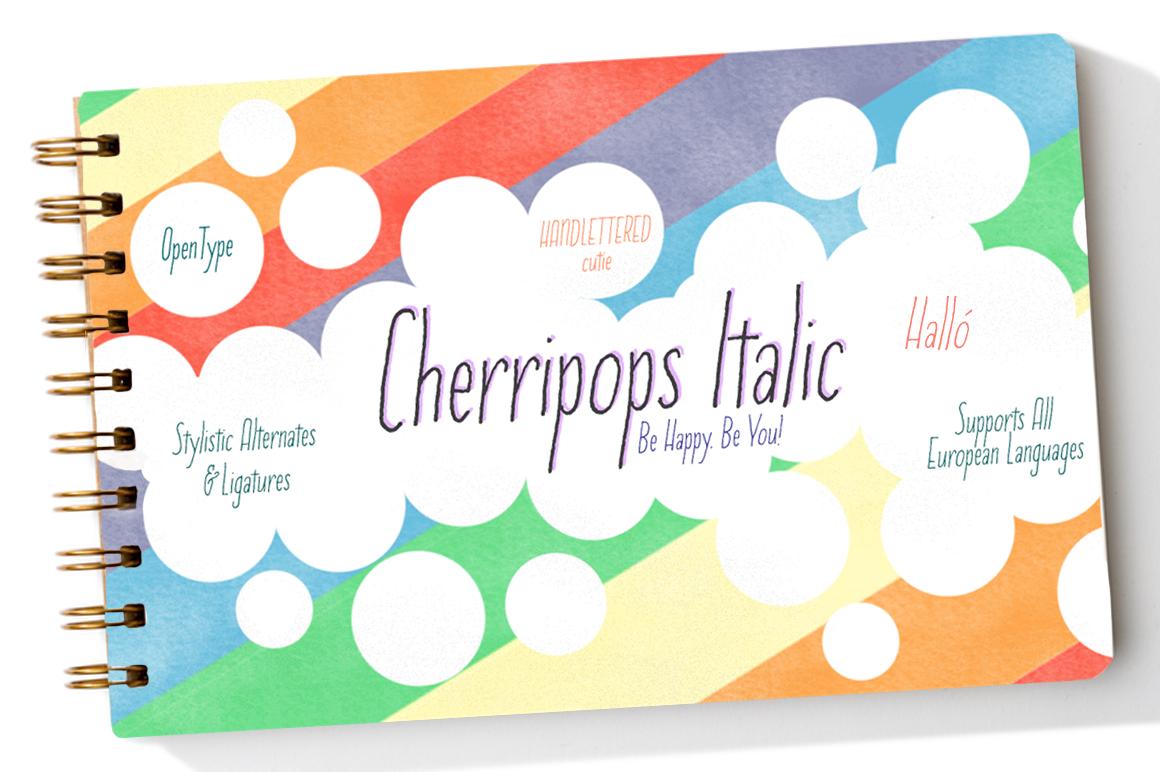 Cherripops & Cherripops Bold and Italics example image 4