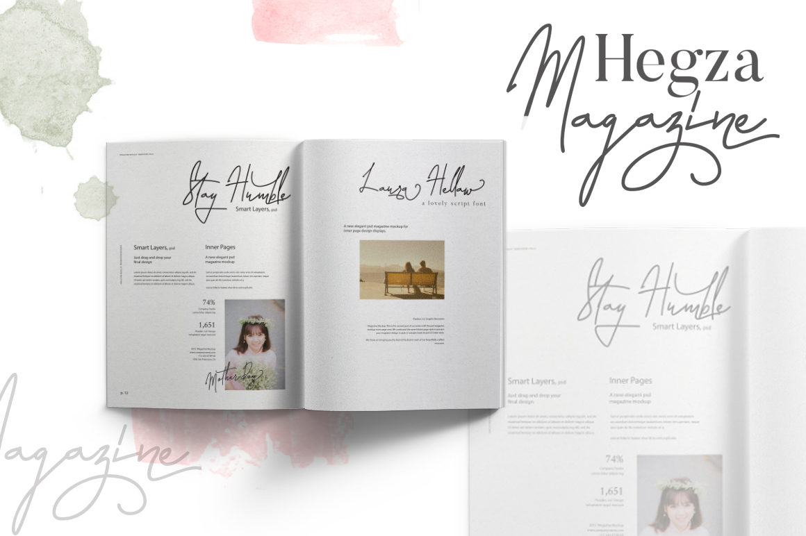 Laura Hellaw a lovely script font example image 4