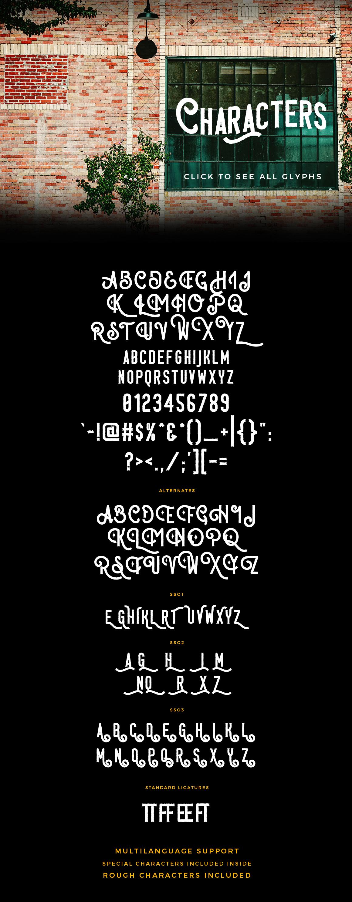 Saint Marche Typeface example image 3
