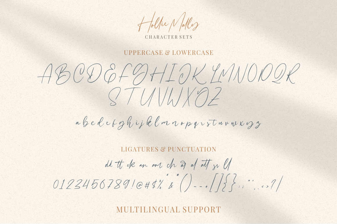 Hollie Mally - Handwritten Font example image 8