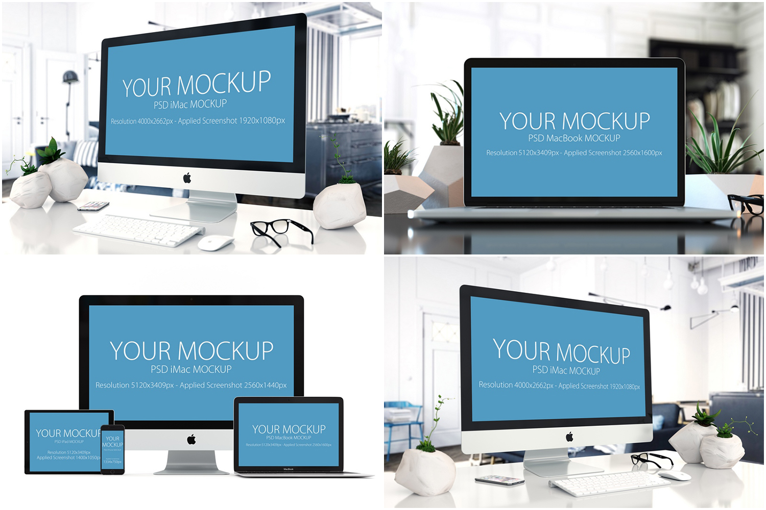 30 PSD Mock-ups Apple Devices example image 5