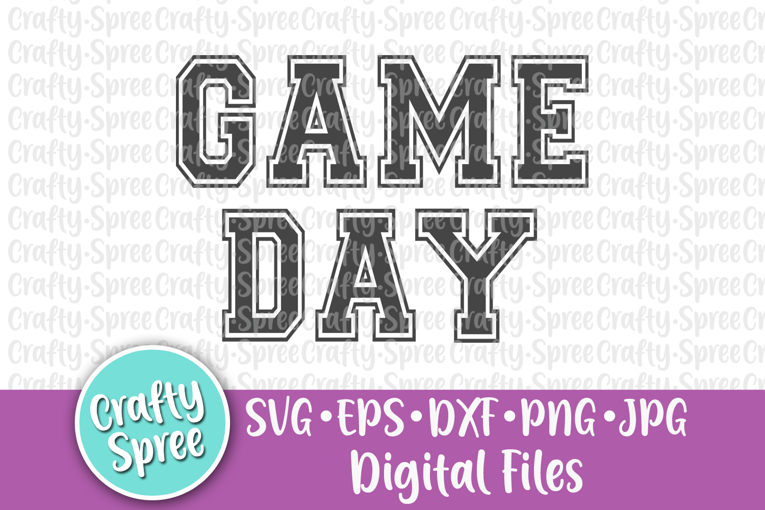 Football Game Day Bundle SVG DXF Design File Sublimation example image 4