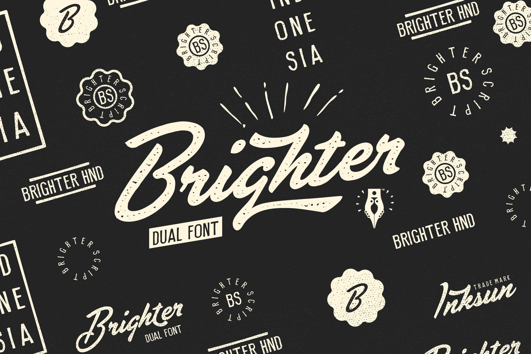Brighter Script example image 3