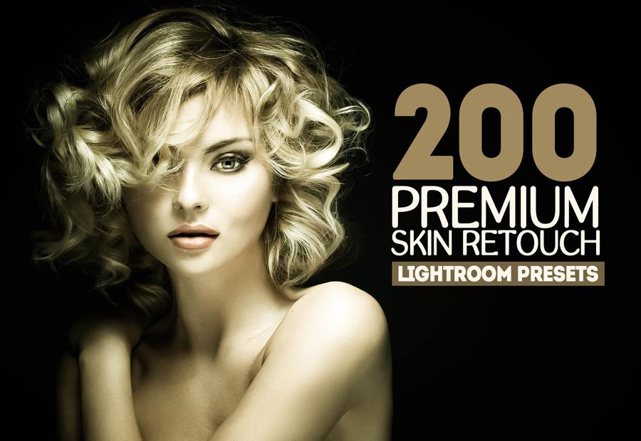 200 Premium Skin Retouch Lightroom Presets (Presets for Lightroom 5,6,CC) example image 1