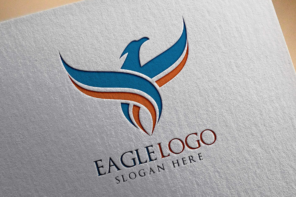 Eagle Fly Logo Template example image 2