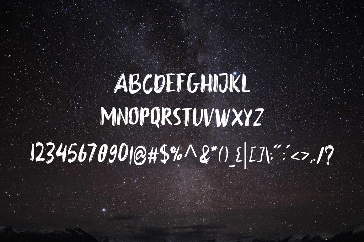 Babbock Brush Font example image 6
