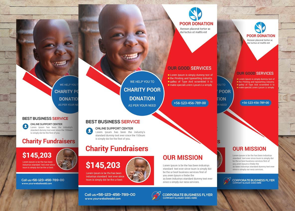 Charity Bundle Flyer 4in1 example image 3