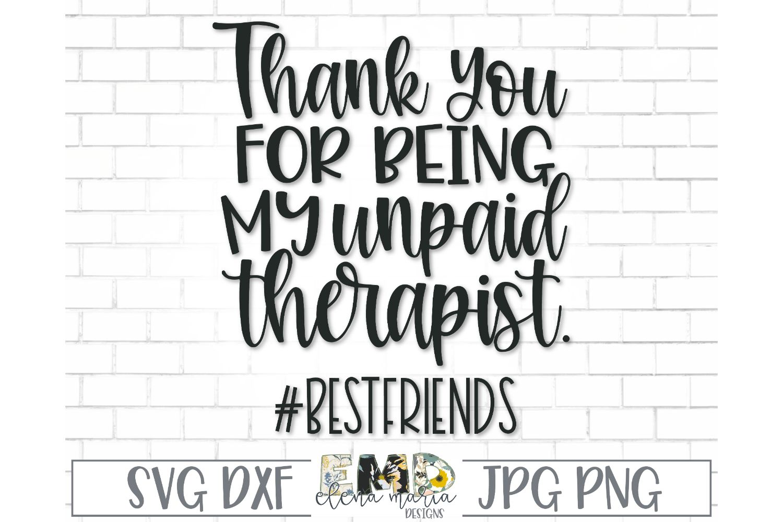 Best Friend Svg File | Friendship Svg File example image 2