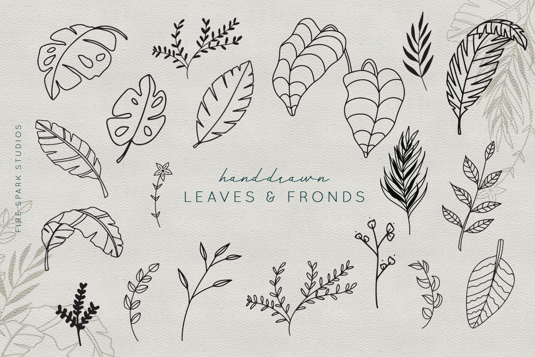 Green Thumb Illustrations & Textures example image 2