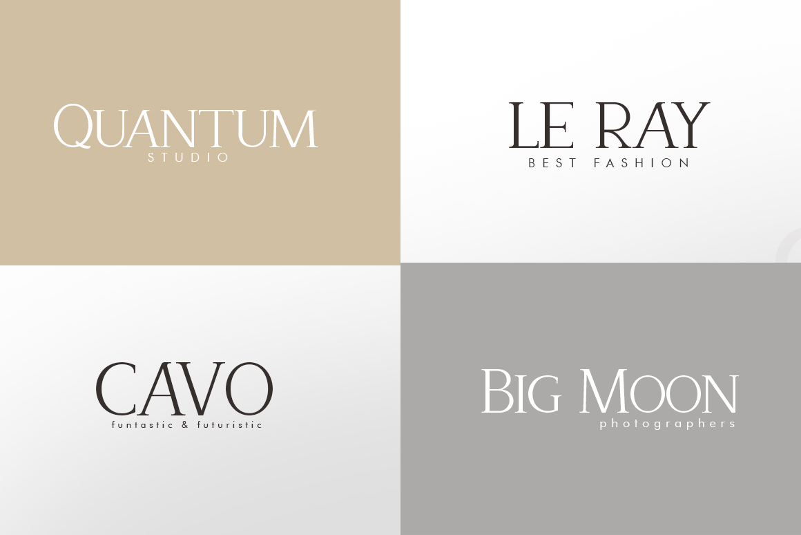 Recoba Font Family example image 4